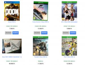 Xbox One játék